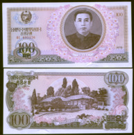 Korea North 100 Won 1978 Pick 22 UNC - Korea, Noord