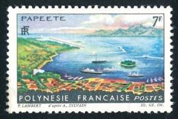 POLYNESIE 1964 - Yv. 32 *   Cote= 4,50 EUR - Paysages : Papeete  ..Réf.POL24306 - Polynésie Française