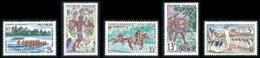 POLYNESIE 1967 - Yv. 47 à 51 **   Cote= 26,00 EUR - Fête De Juillet (5 Val.)  ..Réf.POL24311 - Polynésie Française