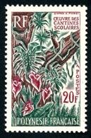 POLYNESIE 1965 - Yv. 35 **   Cote= 25,00 EUR - Œuvre Des Cantines Scolaires  ..Réf.POL24307 - Polynésie Française