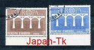 ANDORRA (span.) Mi.Nr. 175-176 EUROPA CEPT Post Und Fernmeldewesen, Brücke 1984  - Used - Europa-CEPT