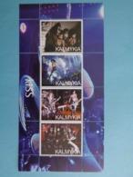 KALMYKIA 2003 -  BLOC 4 TIMBRES - KISS - Blocs & Feuillets