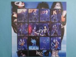 KALMYKIA 2003 -  BLOC 12 TIMBRES - KISS - Blocs & Feuillets