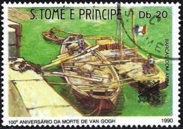 Sao Tome And Principe 1990 - Mi 1218 - YT  991 ( Painting By Van Gogh ) - São Tomé Und Príncipe