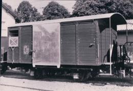 Chemin De Fer, Lausanne Echallens Bercher, Wagon K 101, Photo Retirage LEB 55.501, 10x15 - VD Vaud