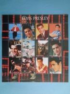KALMYKIA 2003 -  BLOC 12 TIMBRES - ELVIS PRESLEY - Blocs & Hojas
