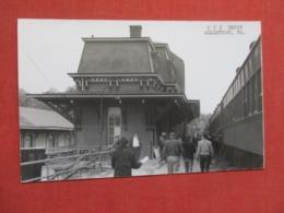 RPPC  CNJ Depot Allentown-- Kodak Stamp Box Pennsylvania > -ref 3666 - United States