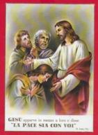 CARTOLINA VG ITALIA - Gesù Apparve In Mezzo A Loro E Disse LA PACE SIA CON VOI - Ed. GM - 10 X 15 - ANN. 1967 - Gesù