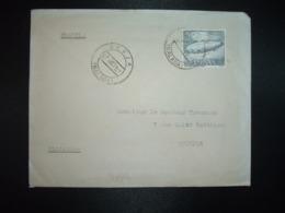 LETTRE Pour La FRANCE TP DIRIGEABLE BALLON 5 P OBL.27 OCT 64 BERJA MALAGA - 1961-70 Storia Postale