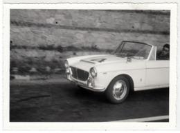 AUTO CAR VOITURE FIAT 1500 SPIDER PININFARINA TARGA TORINO - FOTO ORIGINALE ANNI '60 - Automobili