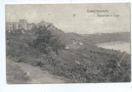 CASTEL GANDOLFO - PANORAMA E LAGO - Roma (Rome)