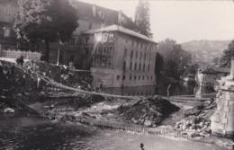 CARTE PHOTO PONTARLIER  GUERRE  1939 1945  PHOTO DRAGLO - Pontarlier
