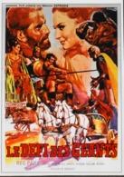 """CINEMA - Affichette Du Film """" Le DEFI Des GEANTS """" De Maurizio Lucidi Avec Reg Park, Gia Sandri, Sorti En 1965 - TBE - Manifesti & Poster"""
