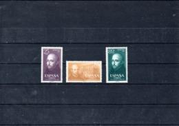 España Nº 1166-68 San Ignacio De Loyola, Serie Completa En Nuevo - España