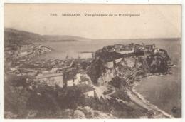 MONACO - Vue Générale De La Principauté - Giletta 702 - Monaco