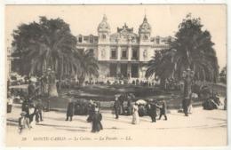 MONTE-CARLO - Le Casino - La Façade - LL 38 - Casino