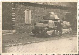 ATTICHY (OISE ) 1940 Photo Werhmacht WW2 , Char SOMUA S 35 Butin 1940 - 1939-45