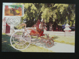 Carte Maximum Card Carrosse Royal Carriage Indonésie Indonesia (ref 86158) - Stage-Coaches