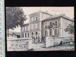 CPA  D19 Champfromier, Hotel De Ville - Other Municipalities