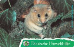 GERMANY - Deutsche Umwelthilfe: Haselmaus (Puzzle 2/2) (Mouse), O 0717-04/94 , Tirage 6.700 ,mint - Duitsland