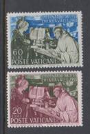 Vatican City S 184-185 1953 St.Bernard, Mint Never Hinged - Vatican