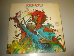 """DOUBLE VINYLE JIMI HENDRIX """"ELECTRIC LADYLAND"""" 2 33 T SUNS / BARCLAY (1968) - Rock"""