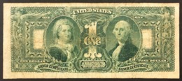 Usa Silver Certificate 1 $ Dollar Educational 1896 PICK#335 Lotto.2928 - Certificaten Van Zilver (1878-1923)