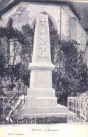 52 - Haute Marne -  DROYES - Le Monument Aux Morts - Autres Communes