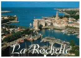 LA ROCHELLE   Vieux Port Vu Du Ciel   22  (scan Recto-verso)MA2064Ter - La Rochelle