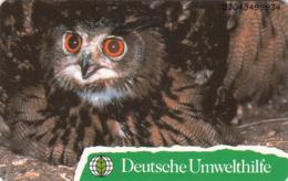 GERMANY - Deutsche Umwelthilfe: Uhu ,Puzzle 1/2 (Bird), O 0817-04/93 , Tirage 20.000 ,mint - Duitsland