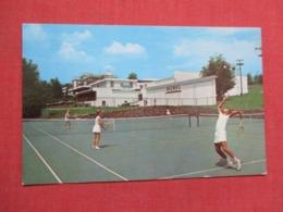 Tennis  TCharles & Lillian Brown's Hotel Loch Sheldrake  NY ---ref 3666 - Tennis