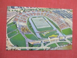 Air View Baltimore Football Stadium  Maryland ---ref 3666 - Postcards