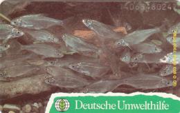 GERMANY - Deutsche Umwelthilfe: Eisvogel ,Puzzle 2/2 (Fishes), O 0903-05/94 , Tirage 7.300 ,mint - Duitsland