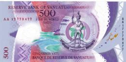 """VANUATU 500 VATU 2017 VF """"free Shipping Via Regular Air Mail (buyer Risk)"""" - Vanuatu"""