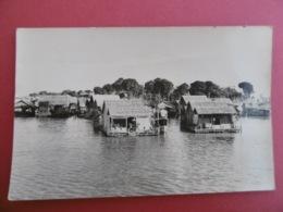 CAMBODGE  - Village Flottant De SNOCTROU     - POSTE Aux ARMEES - Cambodge