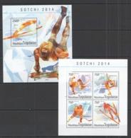 TG509 2014 TOGO TOGOLAISE SPORT WINTER OLYMPIC GAMES 2014 SOCHI KB+BL MNH - Winter 2014: Sochi