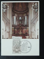 Carte Maximum Card Judaica Grande Synagogue De Bruxelles Belgique (ref 86409) - Jewish