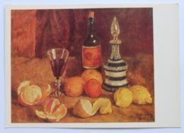 15238 Ilya Mashkov. Still Life With Oranges, Lemons And Wine - Peintures & Tableaux