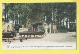 * Edegem - Edeghem (Antwerpen - Anvers) * (G. Hermans - KLEUR) Grot OLV Van Lourdes Te Edegem, Grotte ND De Lourdes - Edegem