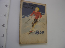 1938 ALMANACH FRANCOIS Rapeno MEDICAMENTS PHARMACIE PRODUITS PHARMACEUTIQUES - Livres, BD, Revues