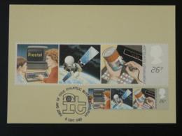 Carte Maximum Card Ordinateur Computer Satellite Grande Bretagne (ref 86528) - Computers