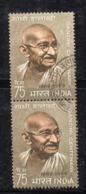 Y965 - INDIA 1969 , Yvert N. 281 Coppia Usata  (2380A). Ghandi - Usati