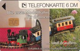 GERMANY - Seit über 25 Jahren LGB Modellbahnen (Train) , O 1625-08/94 , Tirage 5.000 ,used - Duitsland