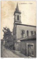Carte Postale 34.  Puimission Sortie De L'église Trés Beau Plan - France