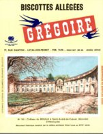 BUVARD  BISCOTTES GREGOIRE CHATEAU DU BOUILH SAINT-ANDRE-DE-CUBZAC  GIRONDE  N° 101 - Food