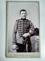 AUXONNE - Photo Ancienne CDV - Militaire Du 8 ème Régiment De Chasseur à Cheval - TBE - Guerra, Militari