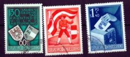 Osterreich - Austria = Serie Yvert 788-790 (Carinthie) 1950 - 1945-60 Gebraucht