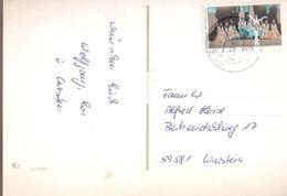 Germany & Marcofilia   Fröhlich Weihnachten... Warstein 1993 (3089) - Storia Postale