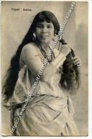 C129> TRIPOLI - LIBIA - Italia - Beduina In Posa. Invasione In Libia Cartolina Viaggiata 1921 1921 - Libya