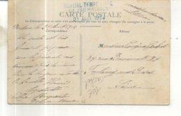 Verdun Sur Meuse, Collège Margueritte, La Cour D'entrée (cachet Hopital Temporaire De 250 Malades, 21 Aout 1914) - Verdun